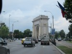 Bucharest's very own Arch de Triumph